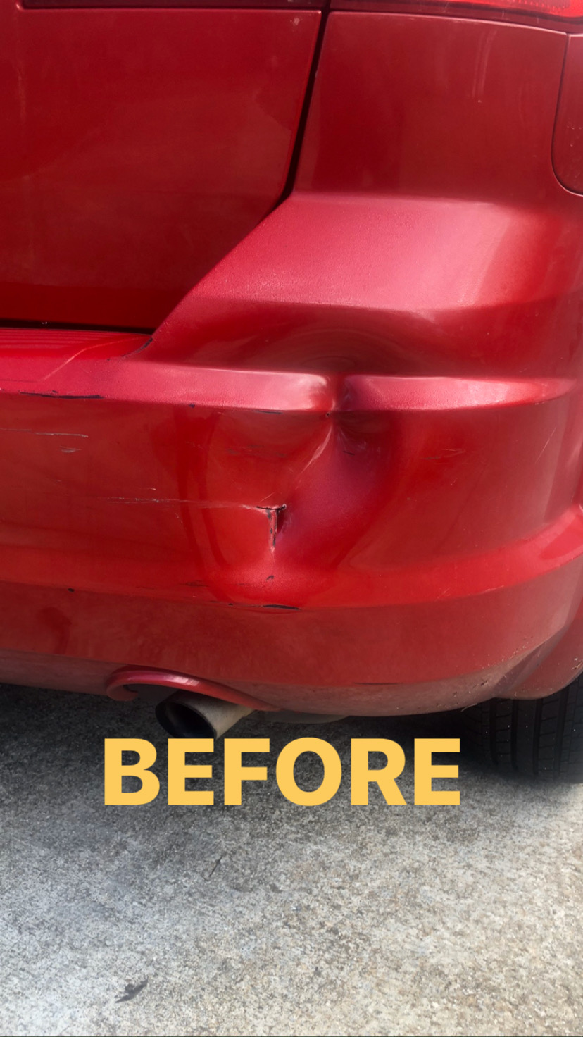 Before Small Collision Repair in Atlanta, GA
