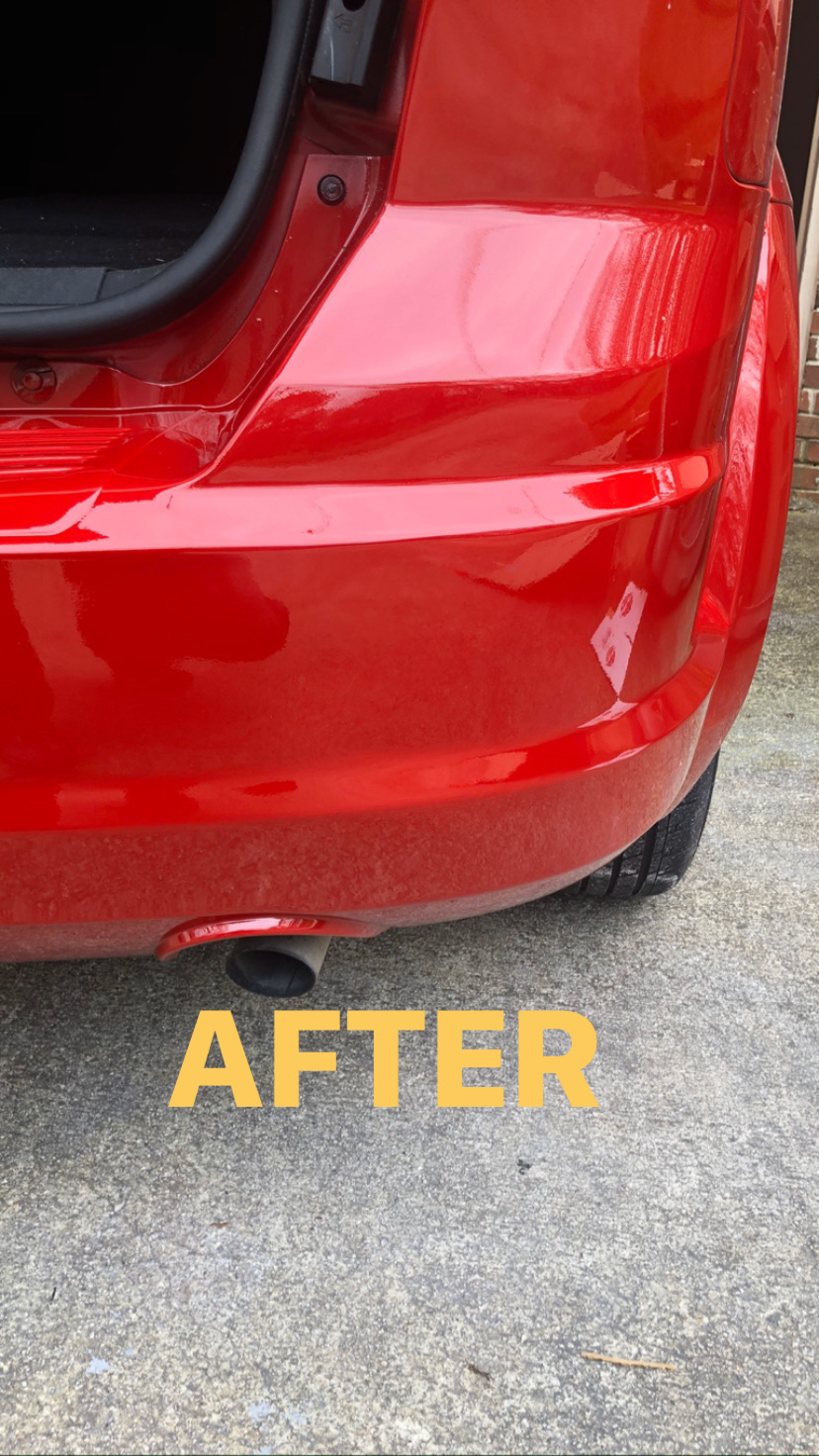 After Small Collision Repair in Atlanta, GA