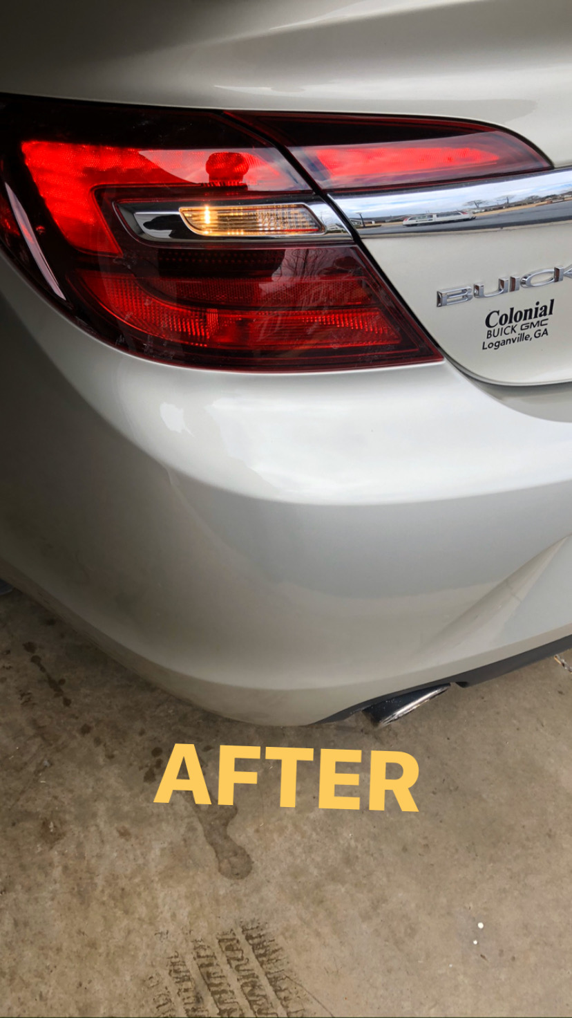 After Bumper Repair in Atlanta, GA